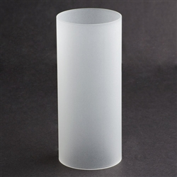 Sterno Frost Cylinder Globe Lamp - 6 in. x 2.5 in.