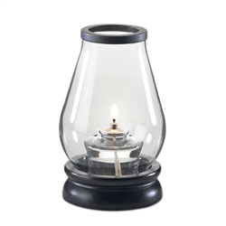 Sterno Zen Clear Glass Lamp Cylinder Globe