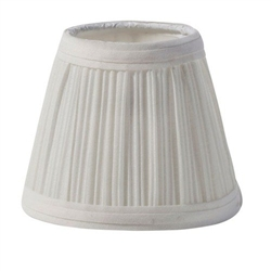 Sterno Small Cream Cloth Shade Lamp