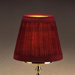 Sterno Small Wine Shade Cloth Lamp