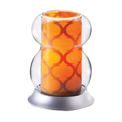 Sterno Interchangeable Amber Lamp Shade