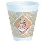 Dart Cafe G Stock Print Cups 12 oz