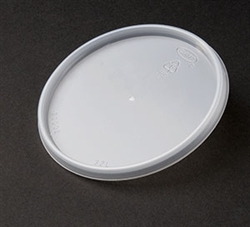 Translucent Non-Vented Specialty Lid for Foam Cups
