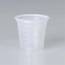 Solo Medical and Dental Cups Clear 1 oz