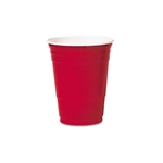 Party Plastic Red Cold Drink Cup - 16 oz.