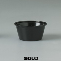 Solo Souffle Black Cups 2 oz