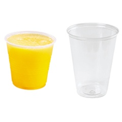 Conex High Impact Translucent 10 oz. Plastic Cups