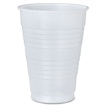 Galaxy Polystyrene Plastic Translucent Cold Cup - 12 oz.