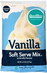 Precision Foods Frostline Lactose Free Vanilla Soft Serve Mix 6 Lb.