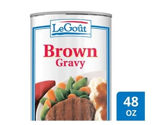 Unilever Best Foods Legout Brown Gravy - 48 oz.
