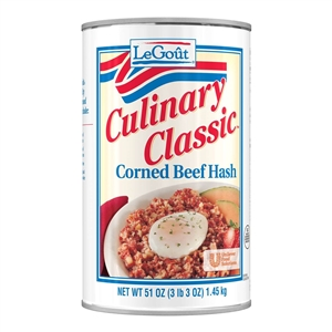 Unilever Best Foods Legout Corned Beef Hash - 51 oz.