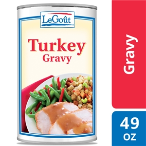 Unilever Best Foods Legout Turkey Flavor Gravy - 49 oz.