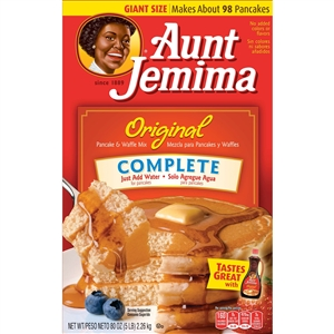 Pepsico Aunt Jemima Complete Pancake and Waffle Mix - 5 Lb.