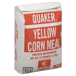 Pepsico Quaker Meal Yellow Enriched Corn - 25 Lb.