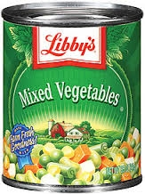 Seneca Libbys Mixed Vegetable