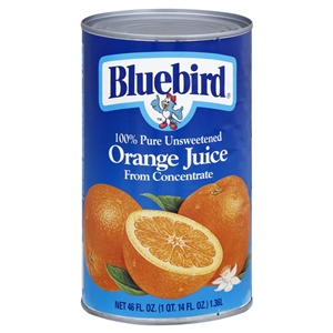 Florida Natural Bluebird Orange Unsweetened Juice - 46 Oz.