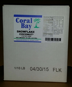 Marx Brothers Coral Bay Snow Flake Coconut 10 Pound