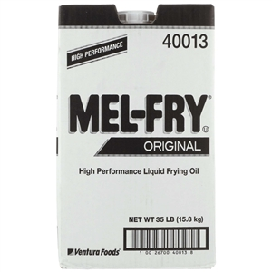Ventura Foods Mel Fry Liquid Clear Shortening - 35 Lb.
