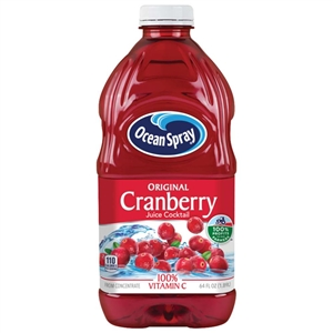 Ocean Spray Cranberry Juice Cocktail - 64 Oz.
