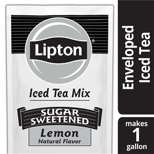 Unilever Best Foods Lipton Lemon Iced Mix Bulk Sugar Tea - 12 oz.