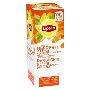 Unilever Best Foods Lipton Orange Tea 6 Packs of 28 Bags
