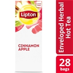 Unilever Best Foods Lipton Cinnamon Apple Herbal 28 Bags Tea