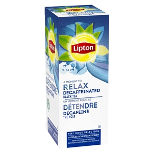 Unilever Best Foods Lipton Premium Decaffeinated 28 Bags Blend Tea