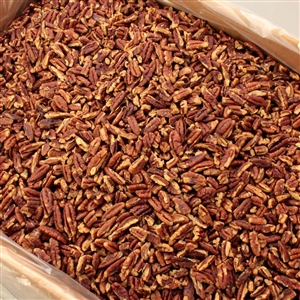 Pecan Fancy Large Pieces Roasted, Buttered, Salted - 30 Pound