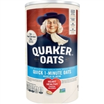Quaker Oatmeal Quick Oats Regular - 42 Oz.
