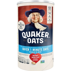Pepsico Quaker Quick Oats Tube - 42 Oz.