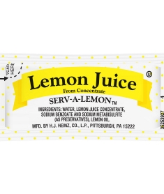 Portion Pac Lemon Juice - 4 Grm.