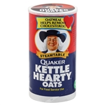 Quaker Oatmeal Steam Table Kettle Hearty Oats REGULAR - 47 Oz.