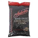Ambrosia 1000 Semi Sweet Chocolate Chips - 10 Pound