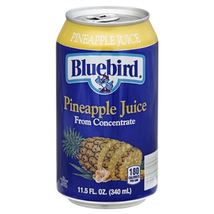 Bluebird Pineapple Juice - 11.5 fl.oz.