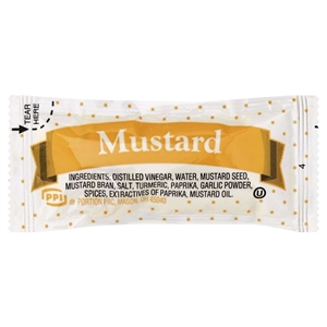 Portion Pac Mustard - 5.5 Grm.