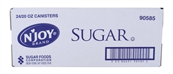 Sugar Foods N Joy Sugar Canister - 20 Oz.