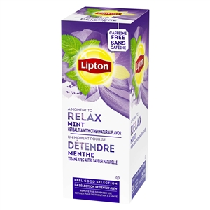 Unilever Best Foods Lipton Mint Soother 28 Bags Tea