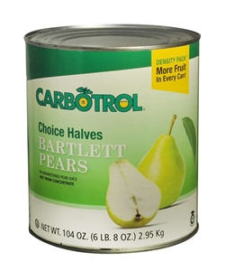 Leahy IFP Carbotrol Fruit Pear In Juice