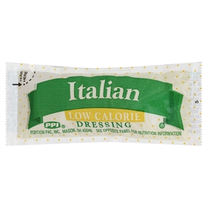 Portion Pac Low Calorie Italian Dressing - 12 Grm.