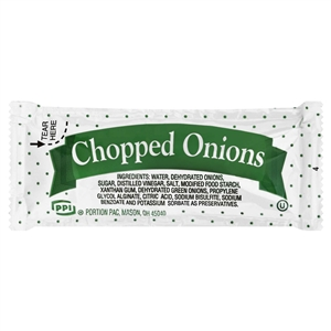 Portion Pac Chopped Onion - 9 Grm.