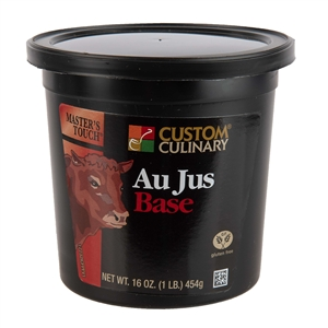 Custom Culinary Masters Touch Au Jus Base - 1 Lb.