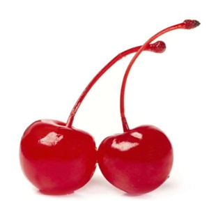 Cherries Maraschino With Stems Glass Large Cherry 0.5 Gal.