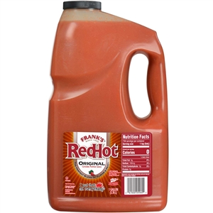 Frenchs Franks Redhot Original Plastic Cayenne Pepper Sauce - 1 Gal.