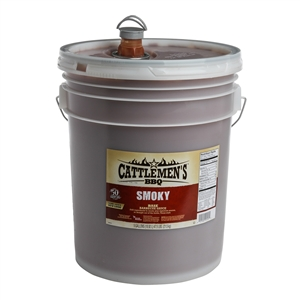Frenchs Cattlemens Texas Smokey Barbecue Sauce - 5 Gal.