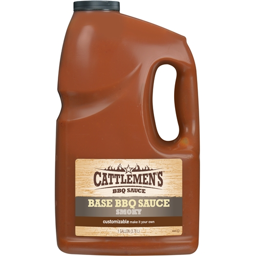 Frenchs cattlemens texas smokey barbecue sauce 1 gal