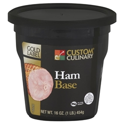 Custom Culinary Gold Label Ham Base No Msg Added - 1 Lb.
