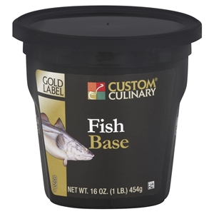 Gold Label No MSG Added Fish Base - 1 Pound