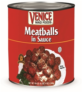 Aunt Kittys Venice Maid Meatballs In Sauce