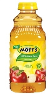 Motts Apple Regular Juice Plastic - 32 Oz.