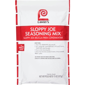 McCormick Lawrys Sloppy Joe 15 oz. Seasoning Mix